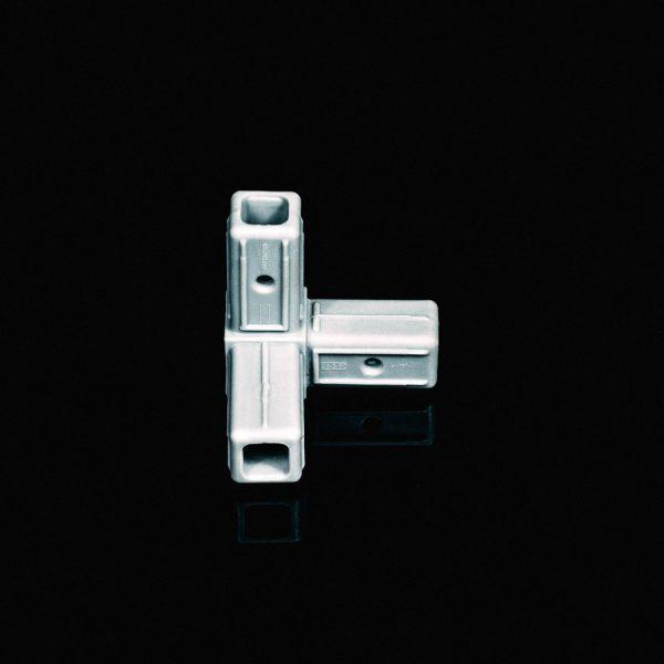 3 Way Connector 25mm Grey