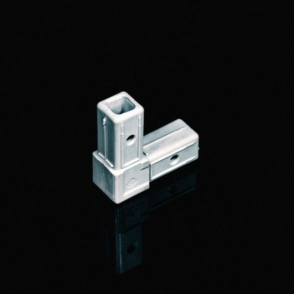 Corner Piece Connector 25mm Grey