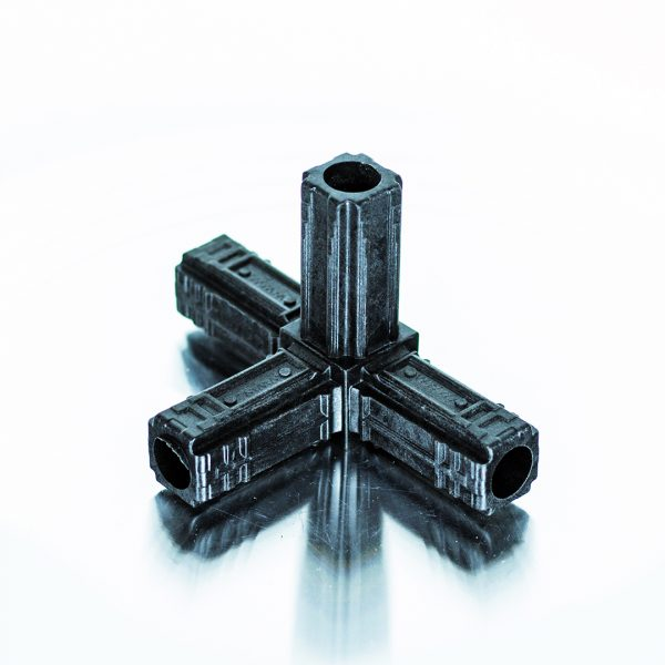Connect-it 4 Way Connector 25mm